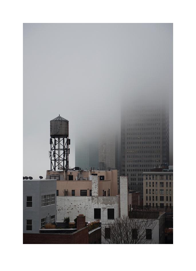 NY dimmig dag